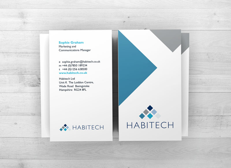 habitech business cards