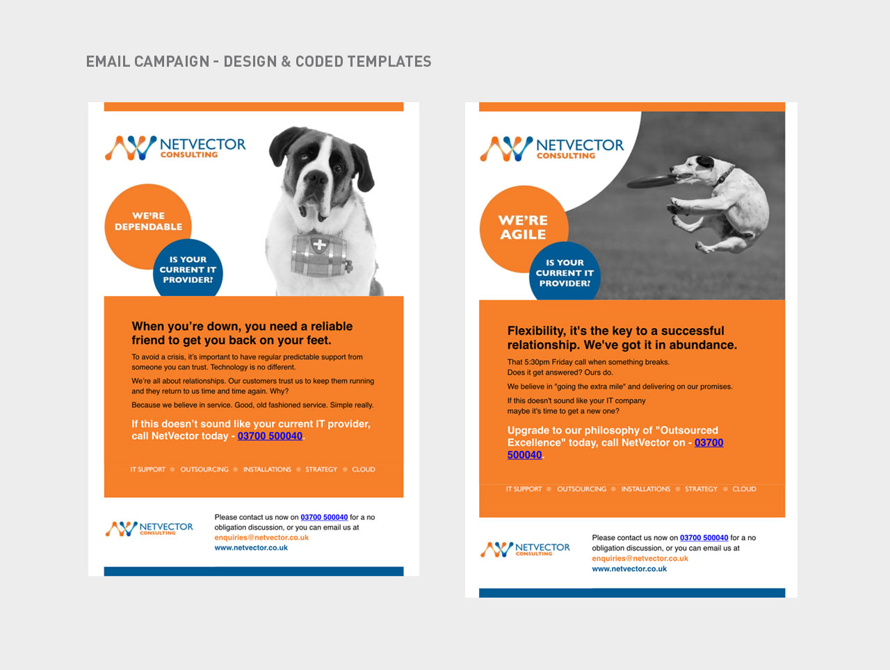 email campaign design templates