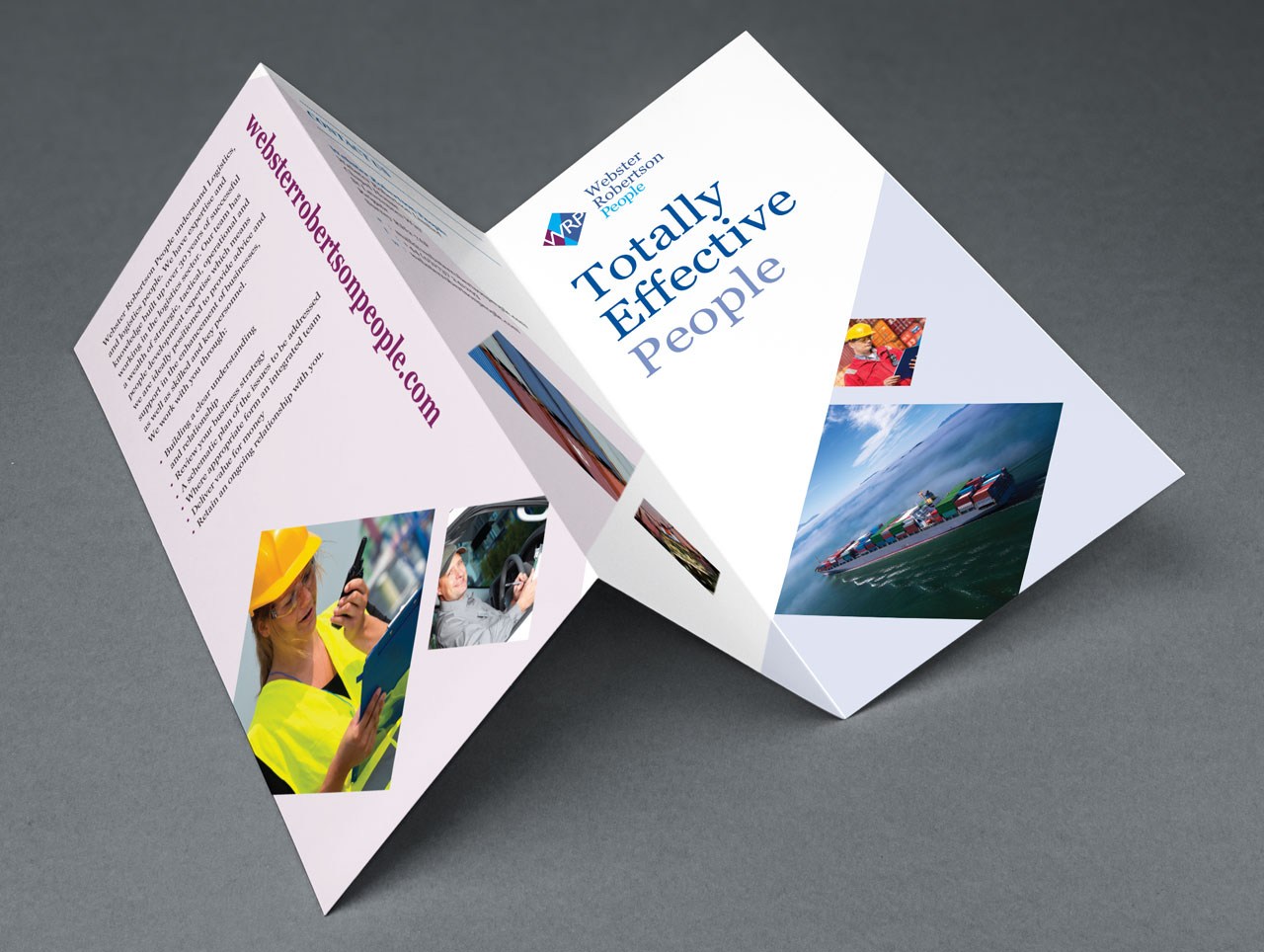 leaflet and brochure design